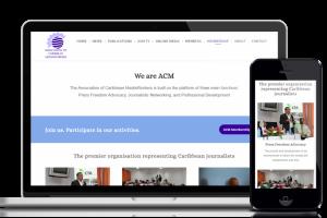 Website design and development service for customer acmpress