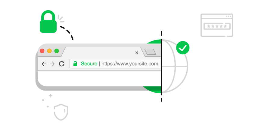 Get the secure (green) lock in Google Chrome