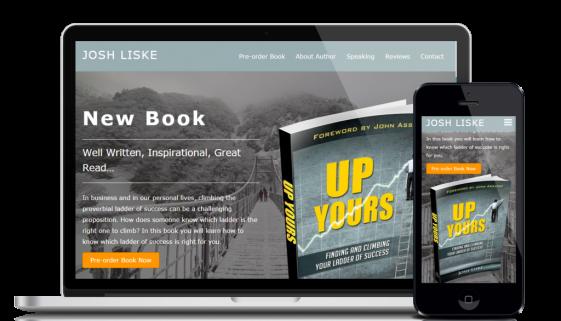 Website design and development service for customer Josh Liske