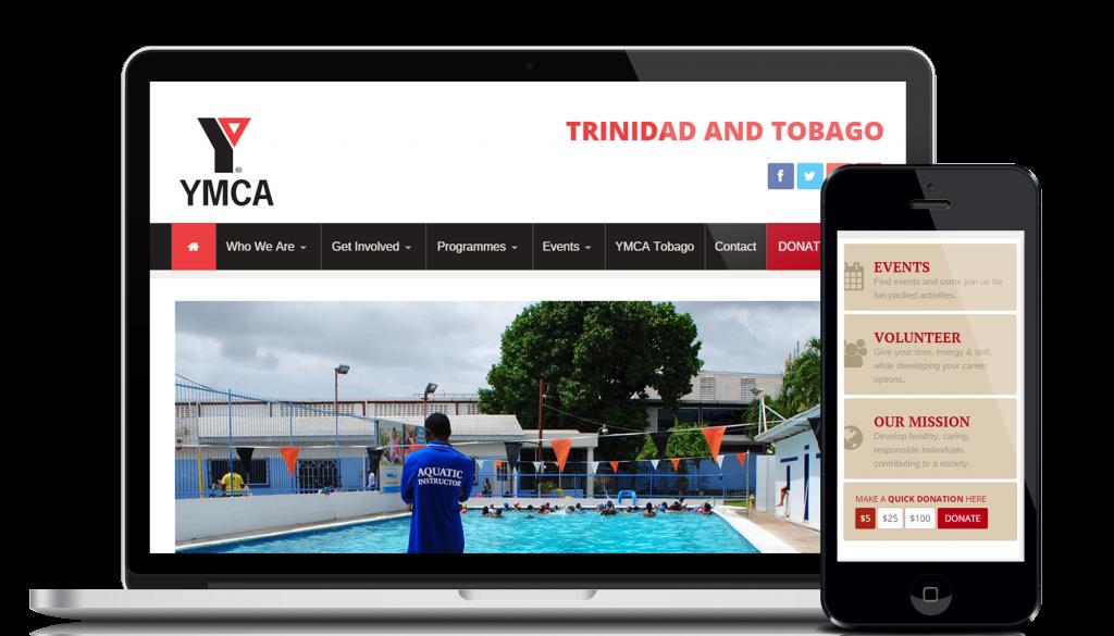 Website design and development service for customer YMCATT